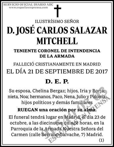 José Carlos Salazar Mitchell